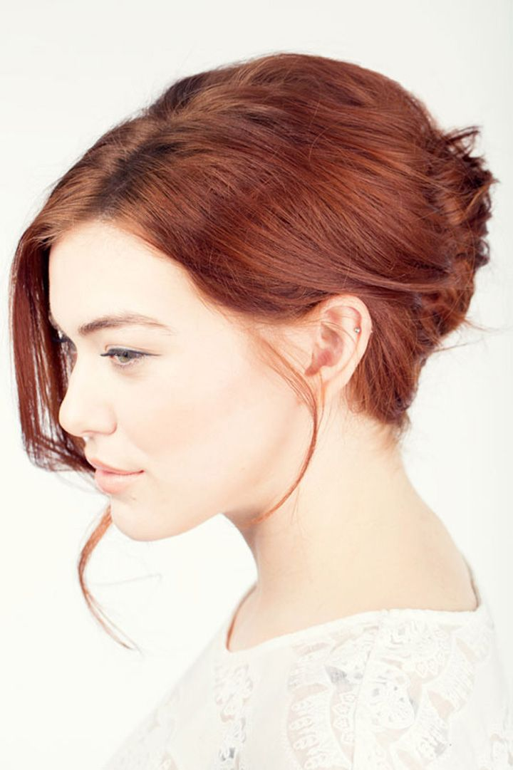 12 Super-Easy Hair Looks Every Woman Can Do in Five Minutes (which means that with my mad hair skills, it should take about 30 minutes... ;)