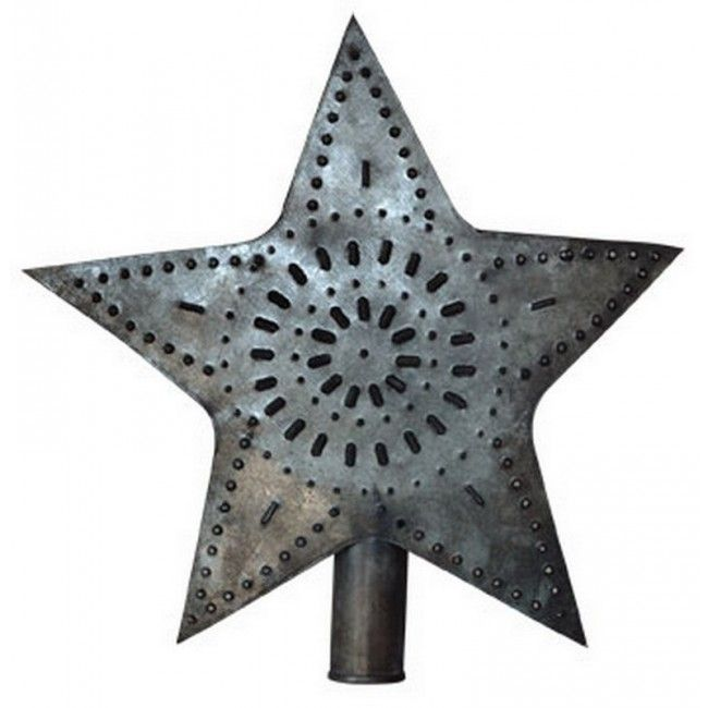 CWI Tin Star Tree Topper - Large GS844 Memphis Alert1