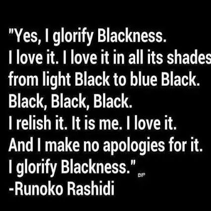Black is Beautiful!!! ✊