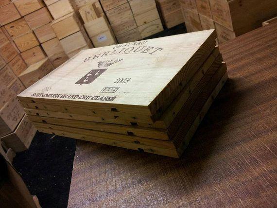 Pack de 12 panneaux de bout de boîte à vin TRADITION française