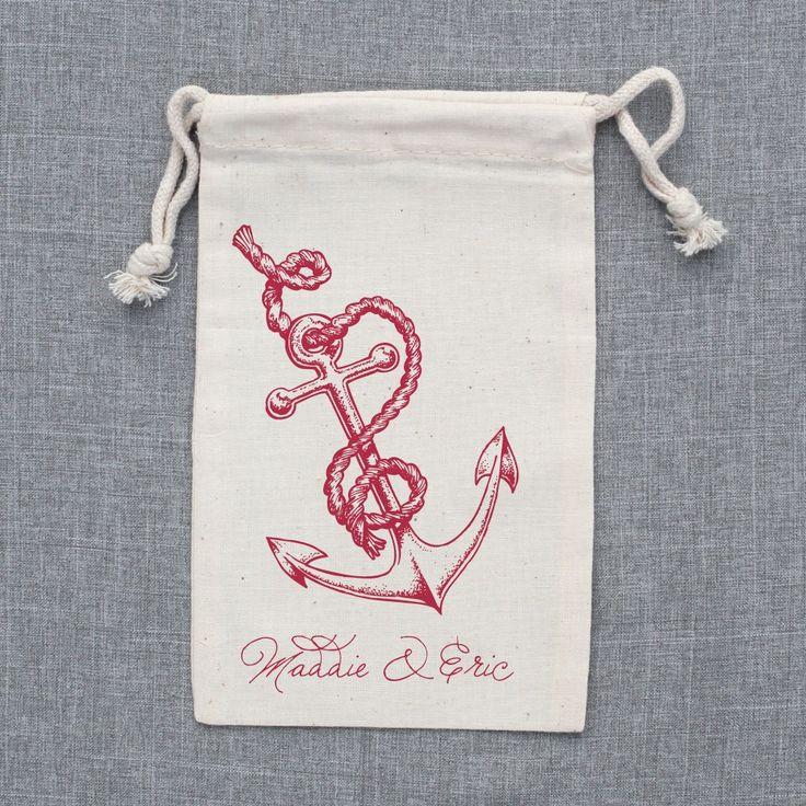 Nautical Wedding Favor Bags - The Wedding Chicks Shop    nautical wedding concepts for parasolofdesign.com