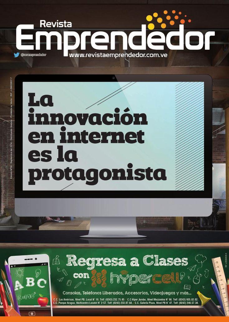 Revista Emprendedor N° 39 - Septiembre 2014  Nuestra edición impresa para el mes de septiembre, dedicada a los emprendedores online.  Our september edition, dedicated to online entrepreneurs.