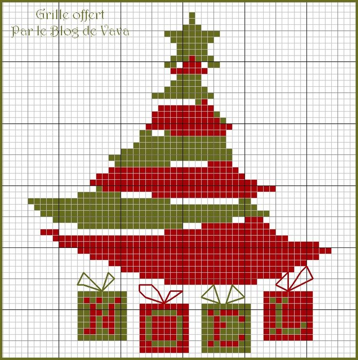 Red and Green Christmas • works up quickly and looks impressive 11/14 ♥