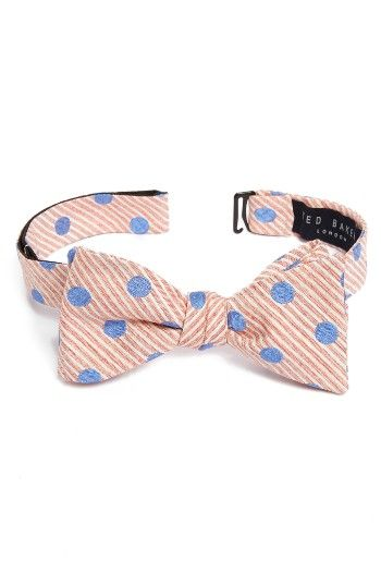 Free shipping and returns on Ted Baker London Seersucker Dot Bow Tie at Nordstrom.com. A spot-on stylish bow tie is expertly tailored in the USA.