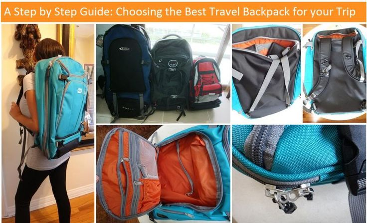 A Step by Step Guide: How to Choose the Best Travel Backpack for your Trip | Travel Fashion Girl