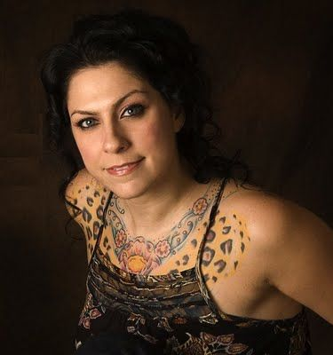 Danielle Colby-Cushman from American Pickers. Please TV, give her her own show and get rid of those two idiots.