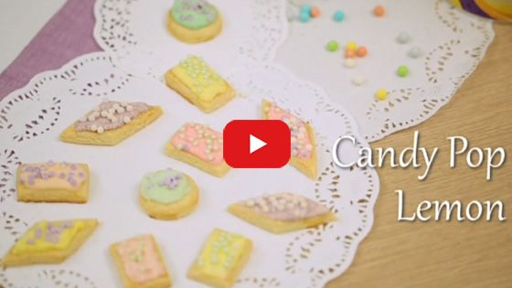 Candy Pop Lemon | Blue Band Indonesia