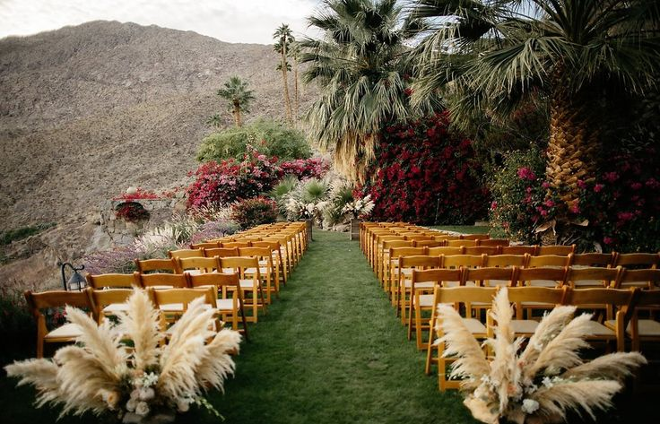 Danielle and Ian's botanical wedding ceremony