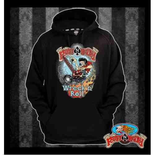 Another amazing Autumn Fashion sense for men by Ruff n Ready. Black is timeless! Wreck n Roll with this Hooded Jumper!  #rockabillyautumn #RuffnReadyAus #AutumnFashion #WrecknRollHoodedJumper #hoodedjumper #fashionstatement