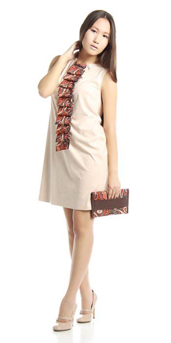 Изделие: Платье и клатч Материал: Искусственная замша + шелк