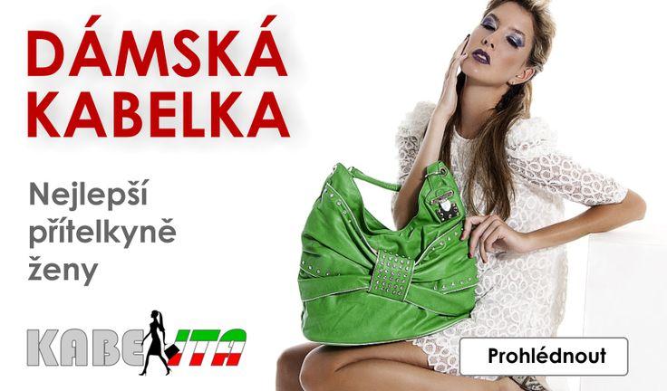 Kabelita.cz - Dámská kabelka, nejlepší přítelkyně ženy.
