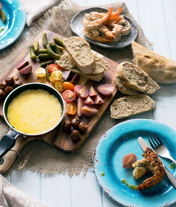 Raclette & Wattleseed bread | www.bellyrumables.com