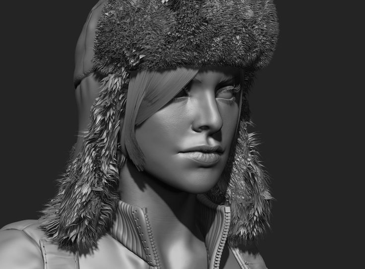 Russian Lady Survivor - Polycount Forum