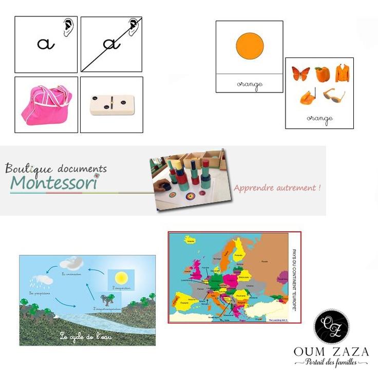 Shopping dans la Boutique Documents Montessori