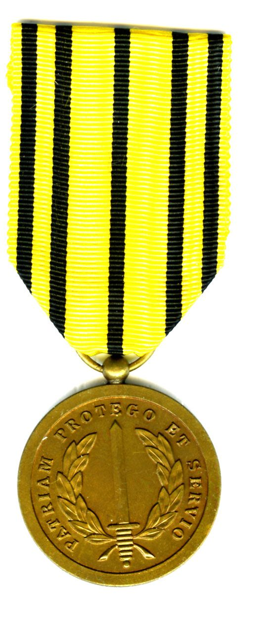 BELGIUM Military Services Rendered Medal