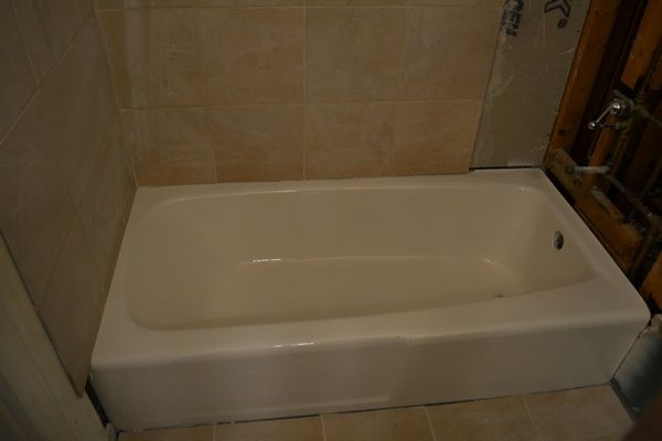 How to reglaze an old bathtub. I had no idea it was possible to DIY. May have to consider this.