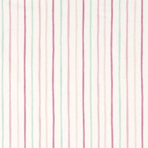 Painterly Stripe Pink Curtains