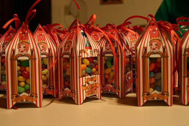 Free templates.  Love it!  Bertie Bott's is one of my favorite details from the Harry Potter world.