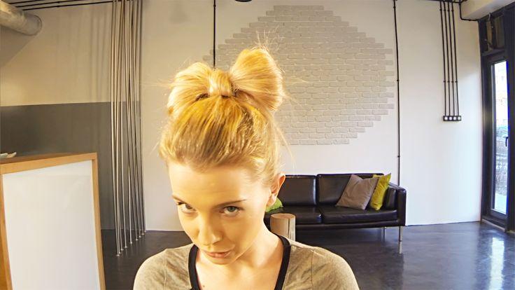 Marta Plecie: Kokarda z włosów