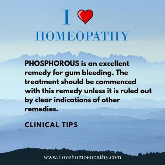 Homeopathy, Bleeding