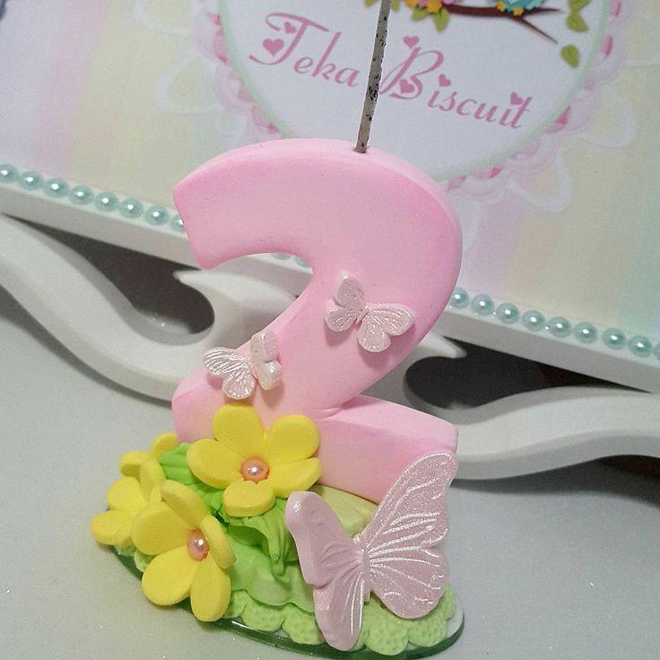 Jardim das borboletas #biscuit #porcelanafria #veladebiscuit #veladecorada #velajardimdasborboletas #festajardimdasborboletas
