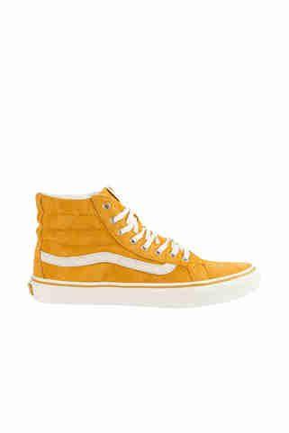 chaussures femme u sk8 hi slim vans jaune mourtarde chaussures accessoires femme