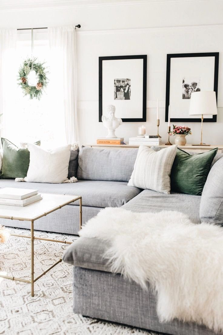 Modern Living Room Decor Pinterest Fresh Cozy For The Holidays With Images In 2020 Living Room Grey Minimalist Living Room Farm House Living Room
