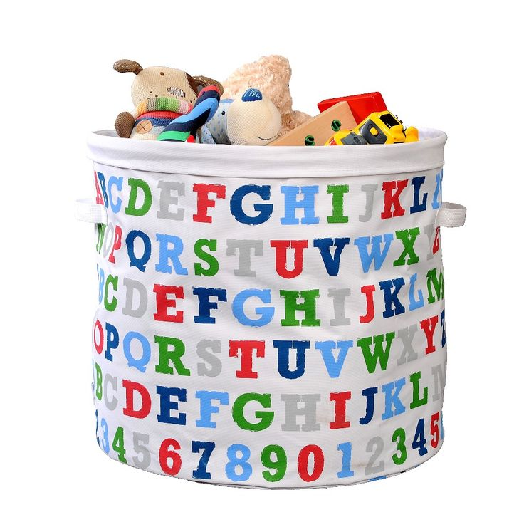 MorStor Charlie Canvas Toy Storage Tub Brights. Toy Storage Solutions That  Add Colour And