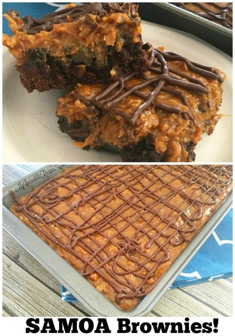 Samoa Brownies! – Incredible Recipes From Heaven (Samoa Cookies Pie)