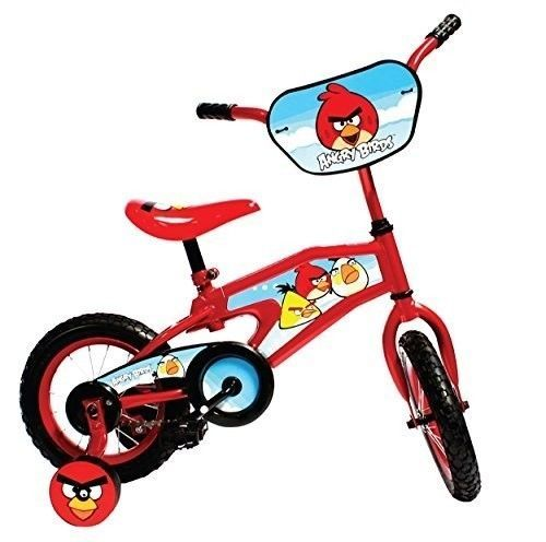 Angry Birds Kid's Bike 12 inch Wheels 8 inch Frame Boys and Girls Red  #CycleForceGroup
