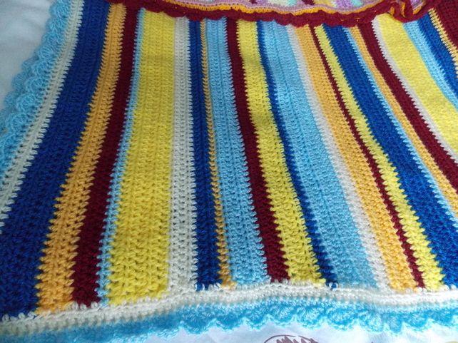 Striped Baby Snuggle Blanket
