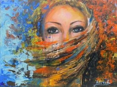 "Saatchi Art Artist areti ampi; Painting, ""Intuition"" #art"