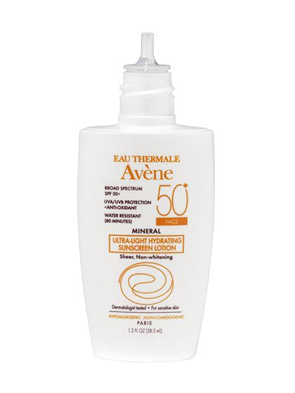 Eau Thermale Avene Mineral Ultra-Light Hydrating Sunscreen Lotion SPF 50+