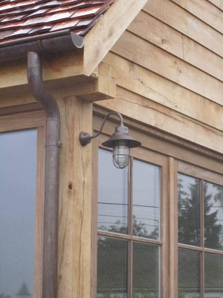 detail eiken bijgebouw, oak poolhouse