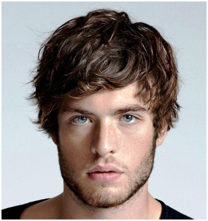 mens medium hairstyles messy Hair Pinterest Curly