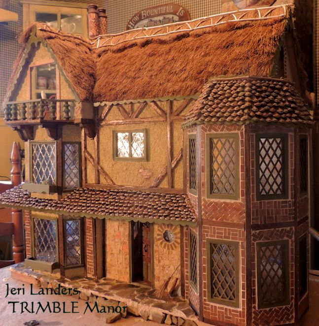 """I built this house as the dwelling of a mouse in the new book series I have been illustrating. The house will be a great """"model"""" for me to draw and paint in my illustrations."""