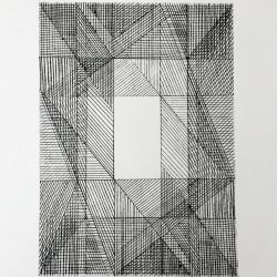 'Double' Dry point etching