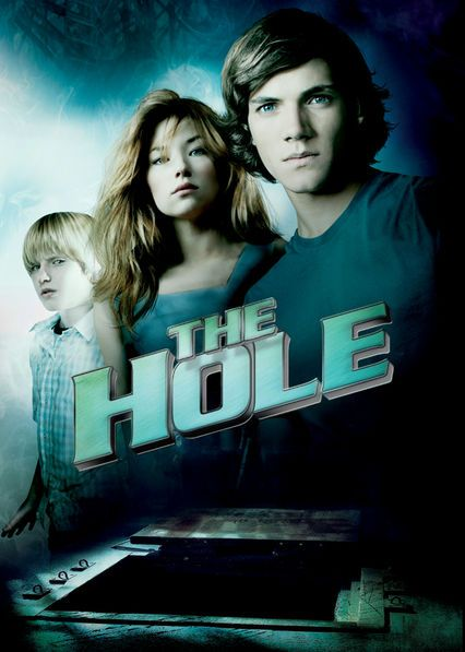 The Hole - Two boys and a neighbor girl discover a mysterious trap door concealing a bottomless hole that leads to excruciating pain and misery.