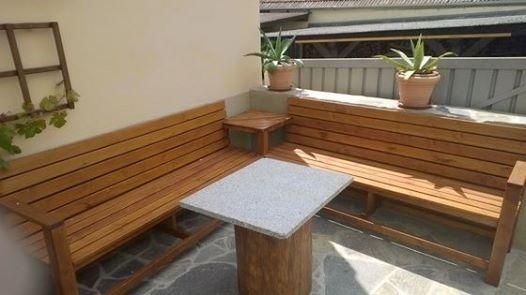 enjoy your evenings on a cosy corner bench: http://www.1-2-do, Terrassen ideen