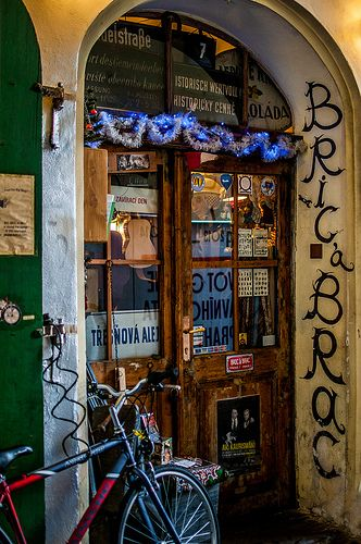 a hidden czech shop called Bric-a-Brac