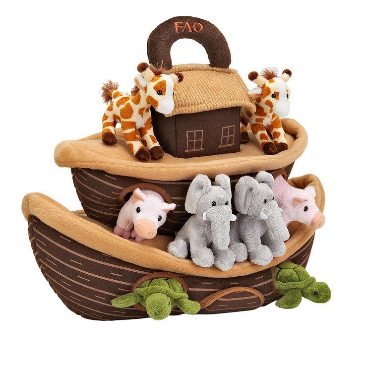 "FAO Schwarz Noah's Ark Set Brown Boat - FAO Schwarz - Toys ""R"" Us"