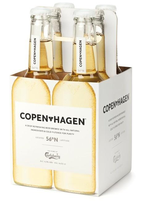 Copenhagen by Carlsberg #packaging