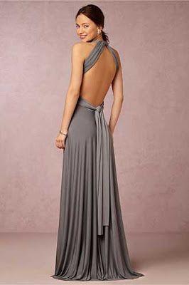 BHLDN sırtı açık abiye elbise