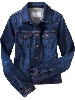 love a jean jacket...three seasons of wear, looks great with pants, shorts, dresses, skirts...