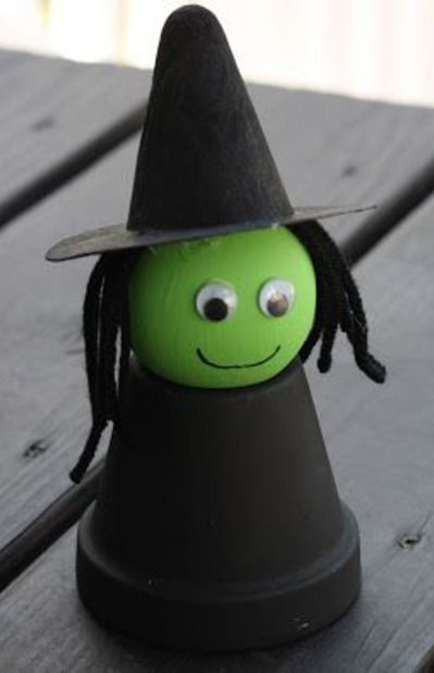 Cute flower pot witch!  Visit us at www.millenniumwasteinc.com to learn more about our garbage and recycling services.