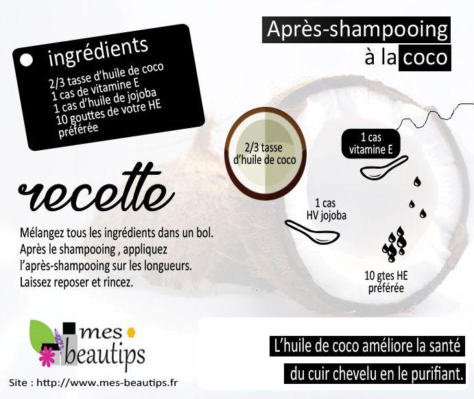 4 utilisations de l'huile de coco pour les cheveux