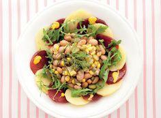 Denny Chef Blog: Insalata ricca di fagioli borlotti e mais