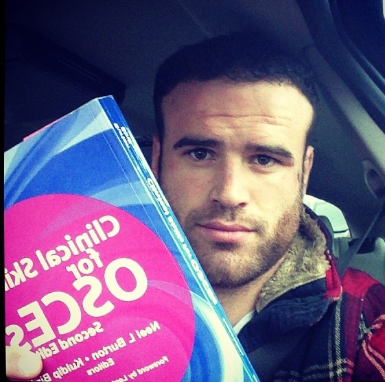 Dr Jamie Roberts ... I think I could get into rugby