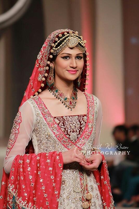 Bridal dress by zainab chottani