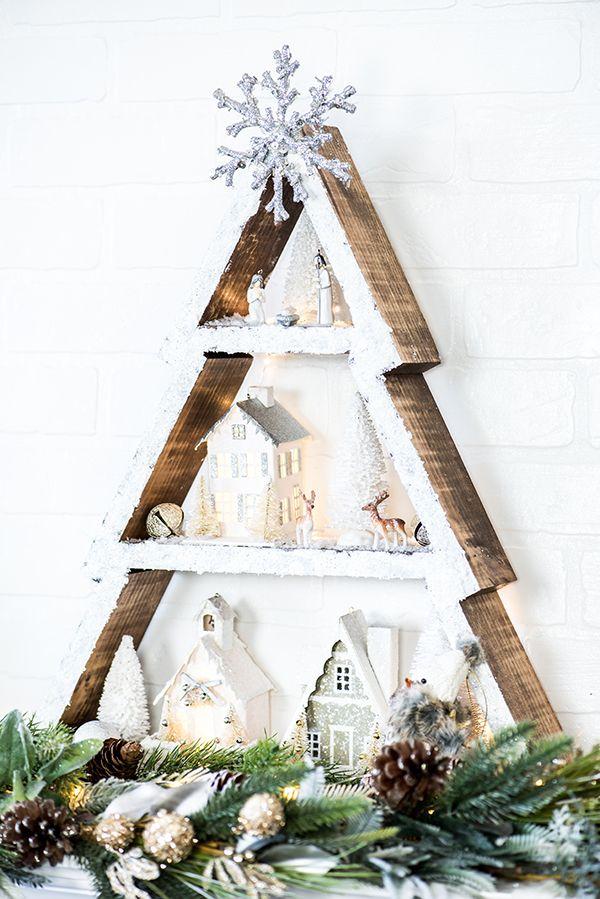 Winter-Wonderland-Christmas-Tree-Shelf.jpg (600×899)